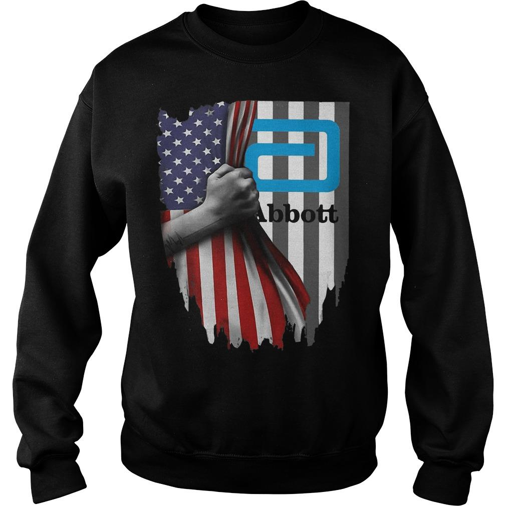 American Flag Independence Day Abbott Sweater