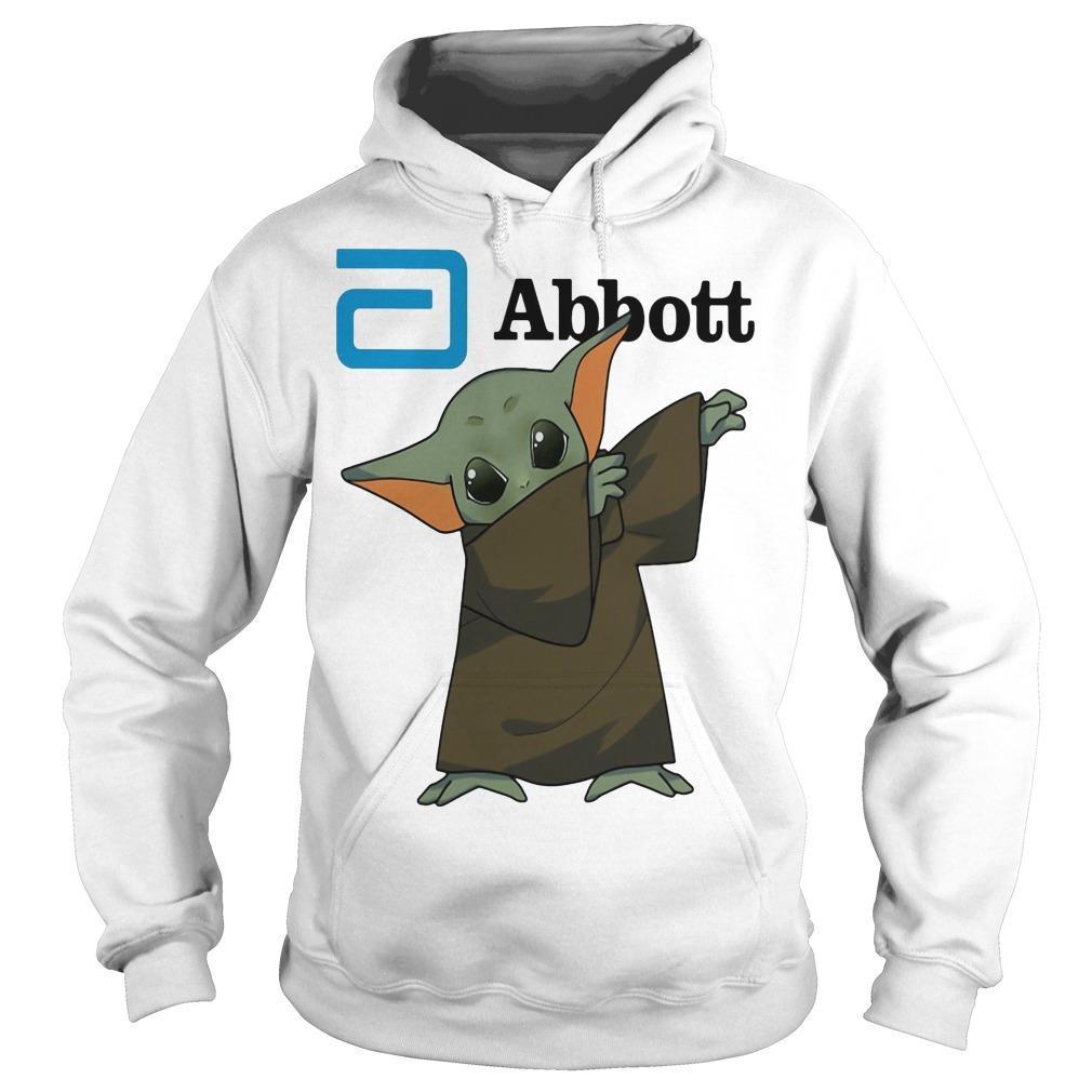 Dabbing Baby Yoda Abbott Hoodie