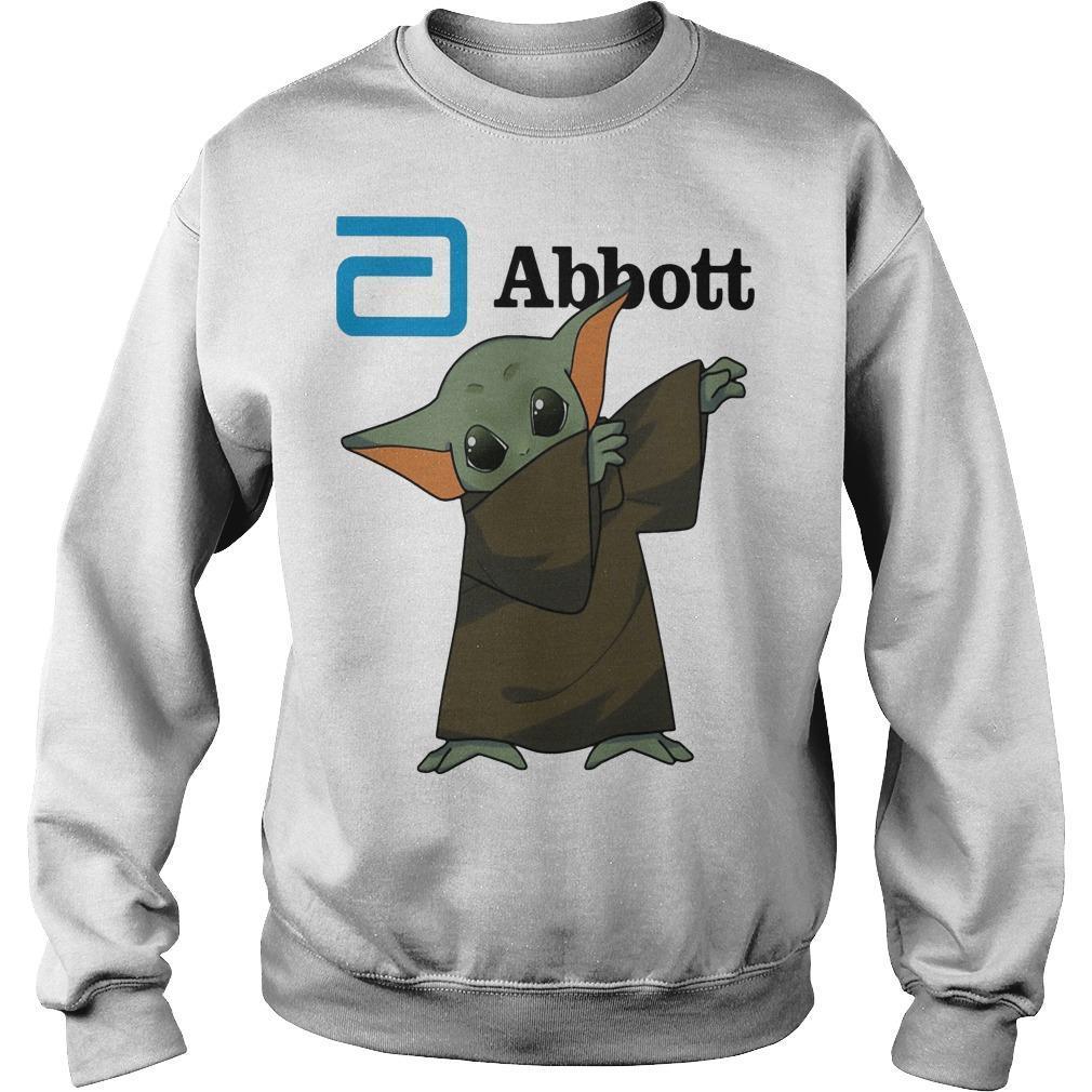 Dabbing Baby Yoda Abbott Sweater