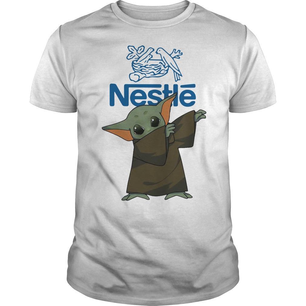 Dabbing Baby Yoda Nestle Shirt