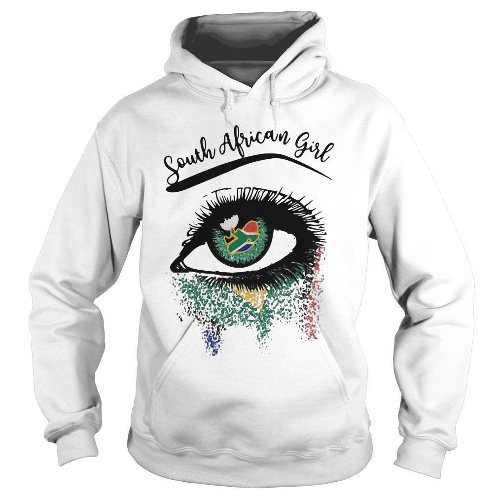 Eye South African Girl Hoodie