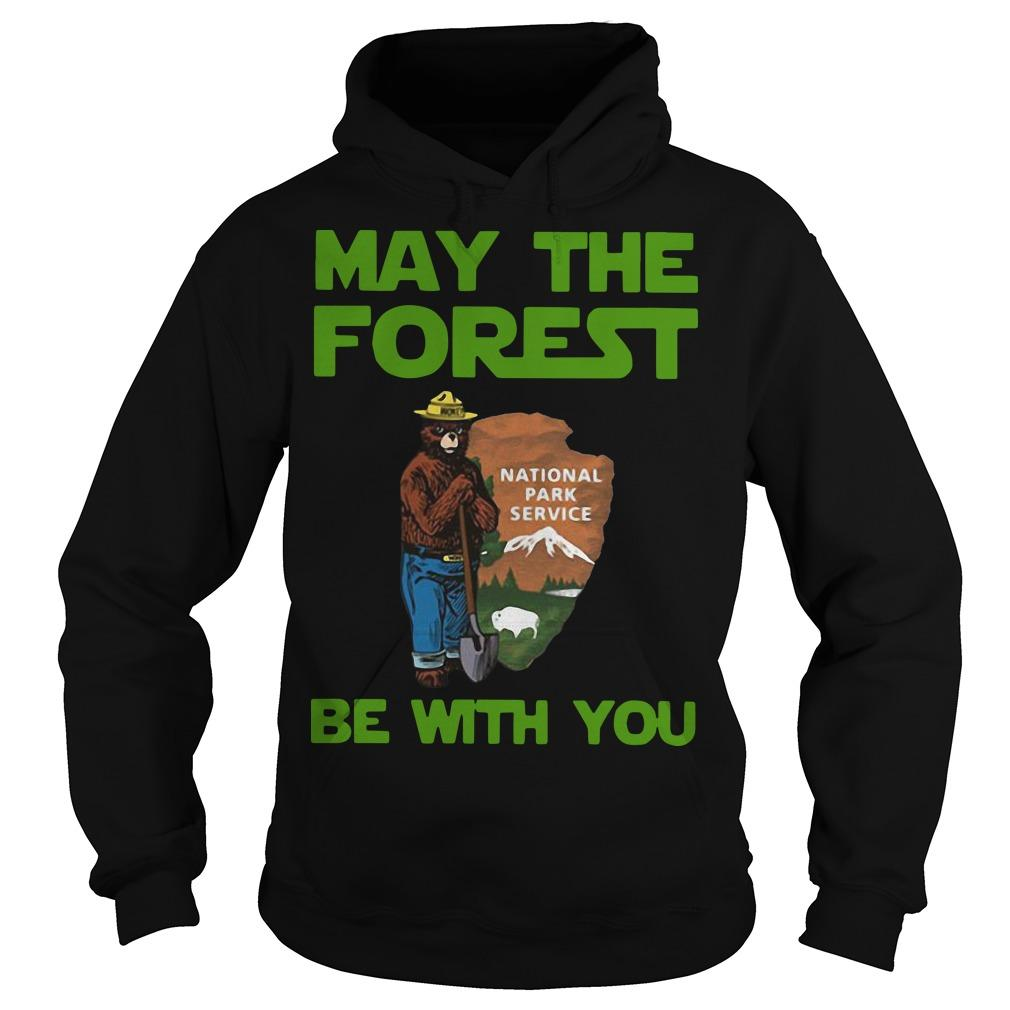 Farmer Bear May The Forest Be With You National Park Service Hoodie