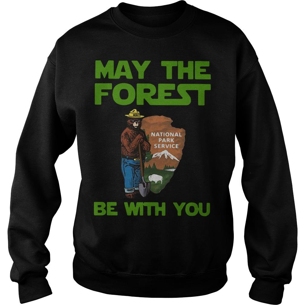 Farmer Bear May The Forest Be With You National Park Service Sweater