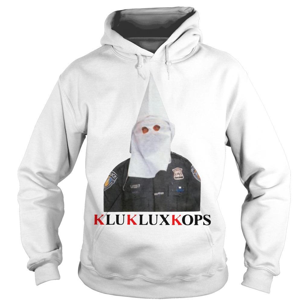 Fuck The Police Klu Klux Kops Hoodie