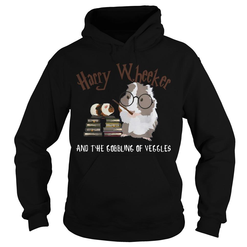 Guinea Pig Harry Wheekker And The Gobbling Of Veggles Hoodie