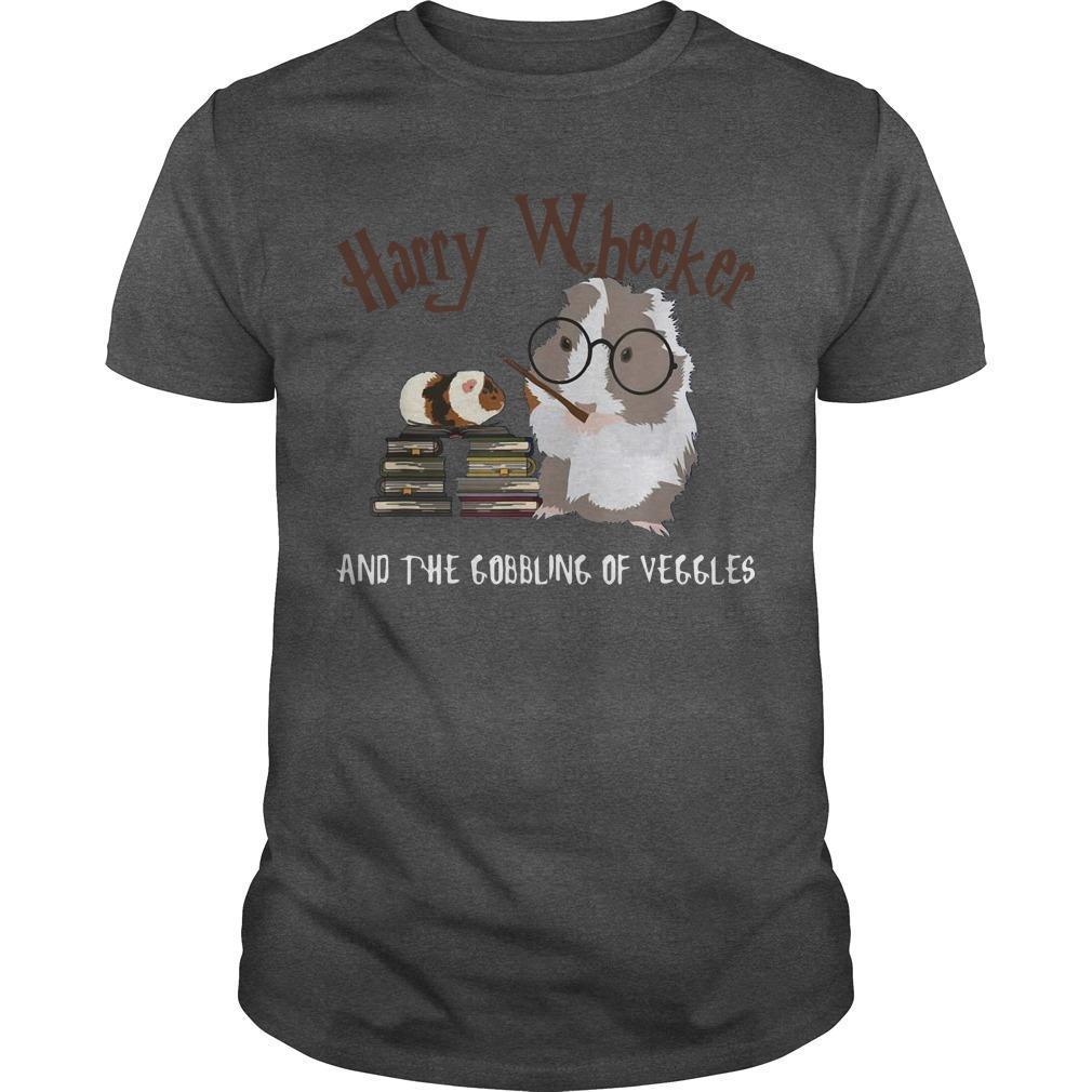 Guinea Pig Harry Wheekker And The Gobbling Of Veggles Shirt