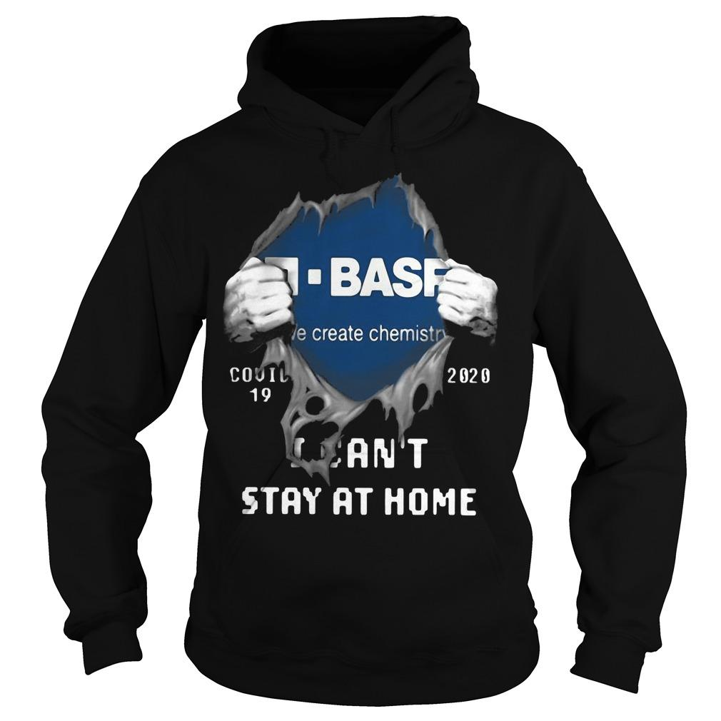 Inside Me Basf Covid 19 2020 I Can't Stay At Home Hoodie