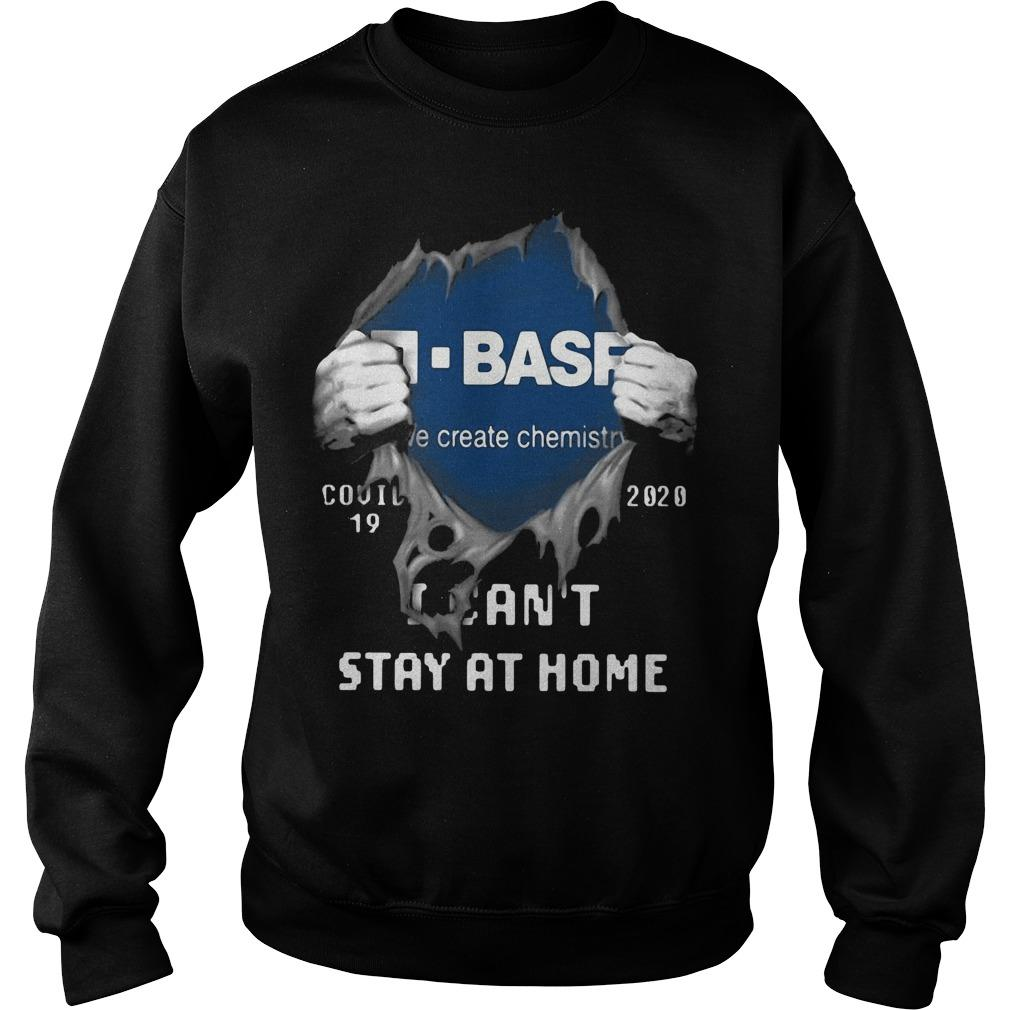 Inside Me Basf Covid 19 2020 I Can't Stay At Home Sweater