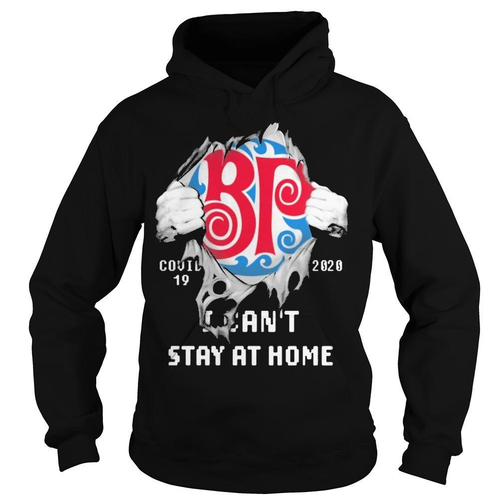 Inside Me Boston Pizza Covid 19 2020 I Can't Stay At Home Hoodie