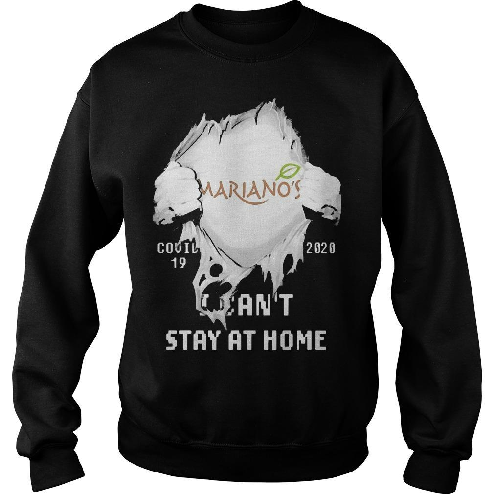 Inside Me Mariano's Covid 19 2020 I Can't Stay At Home Sweater