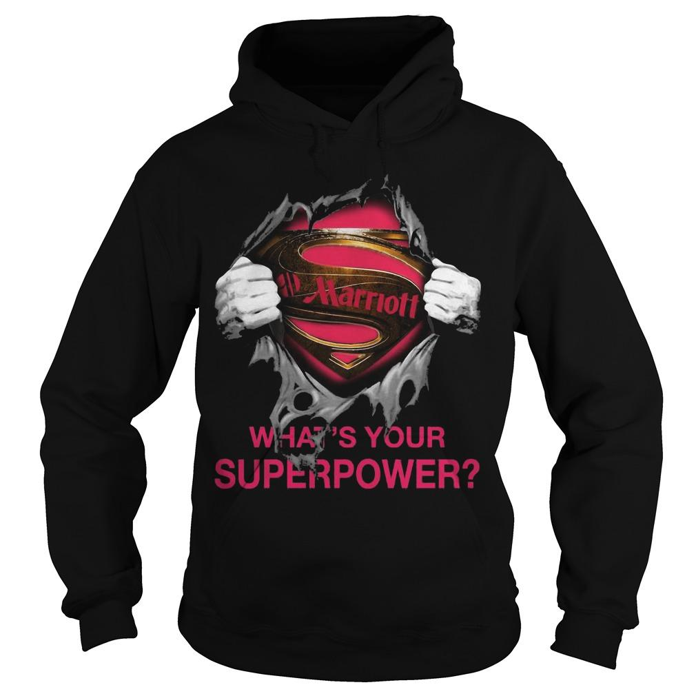 Inside Me Marriott What's Your Superpower Hoodie
