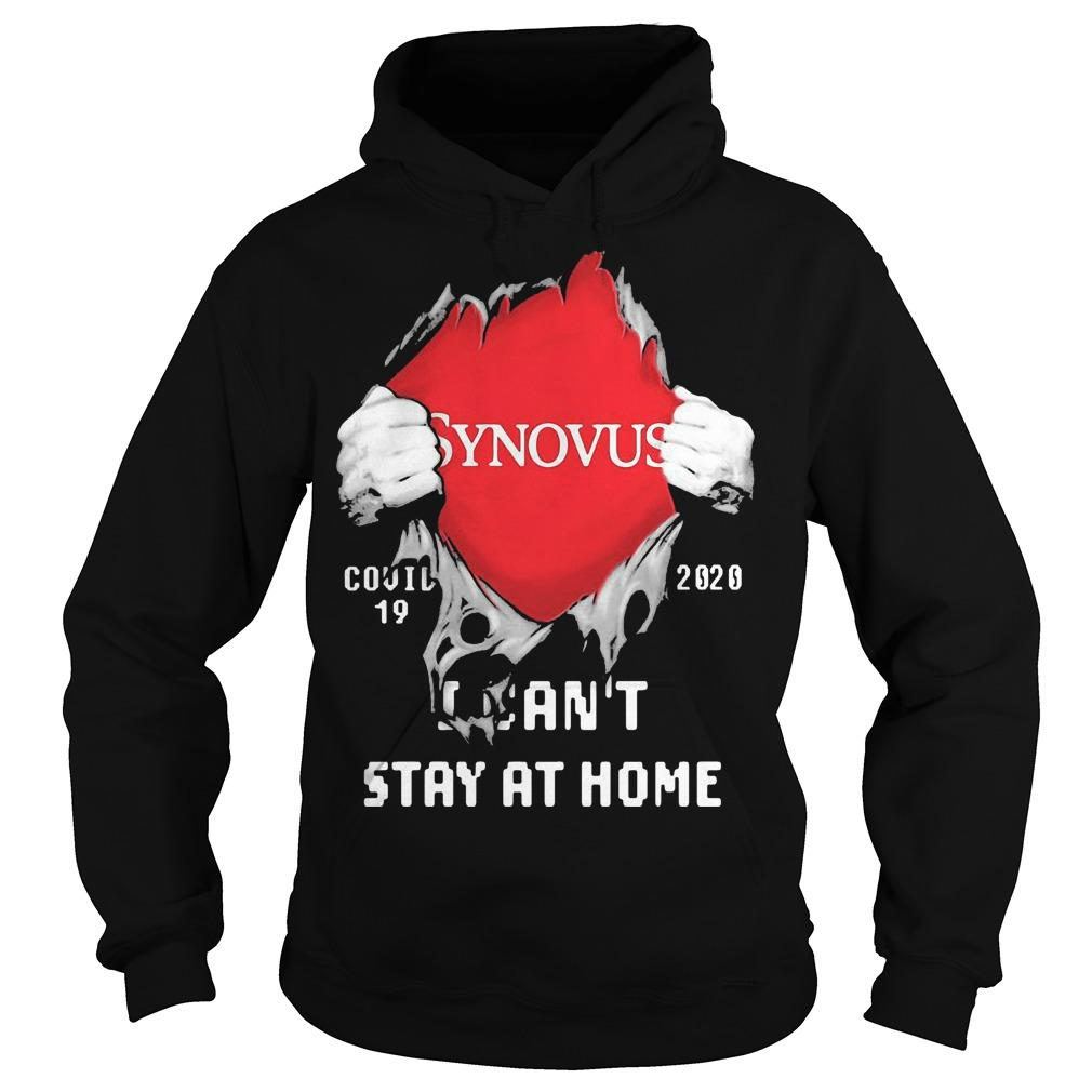Inside Me Synovus Covid 19 2020 I Can't Stay At Home Hoodie