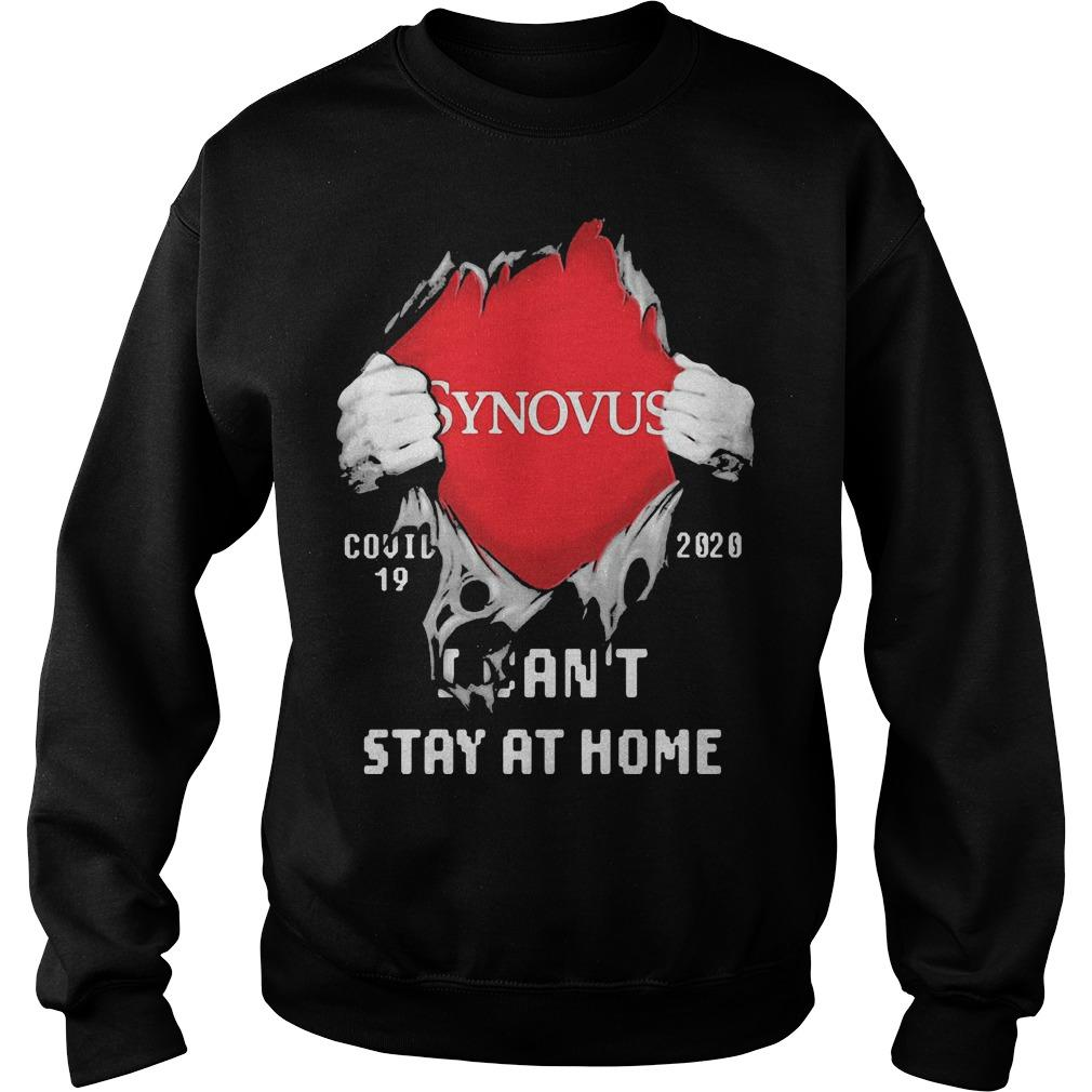 Inside Me Synovus Covid 19 2020 I Can't Stay At Home Sweater