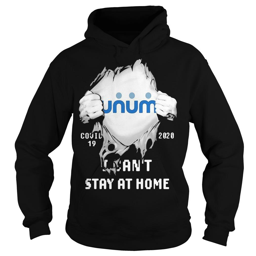 Inside Me Unum Covid 19 2020 I Can't Stay At Home Hoodie