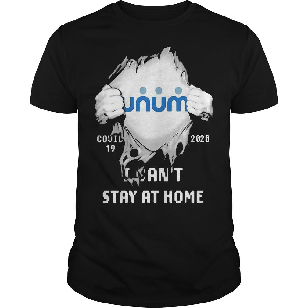 Inside Me Unum Covid 19 2020 I Can't Stay At Home Shirt