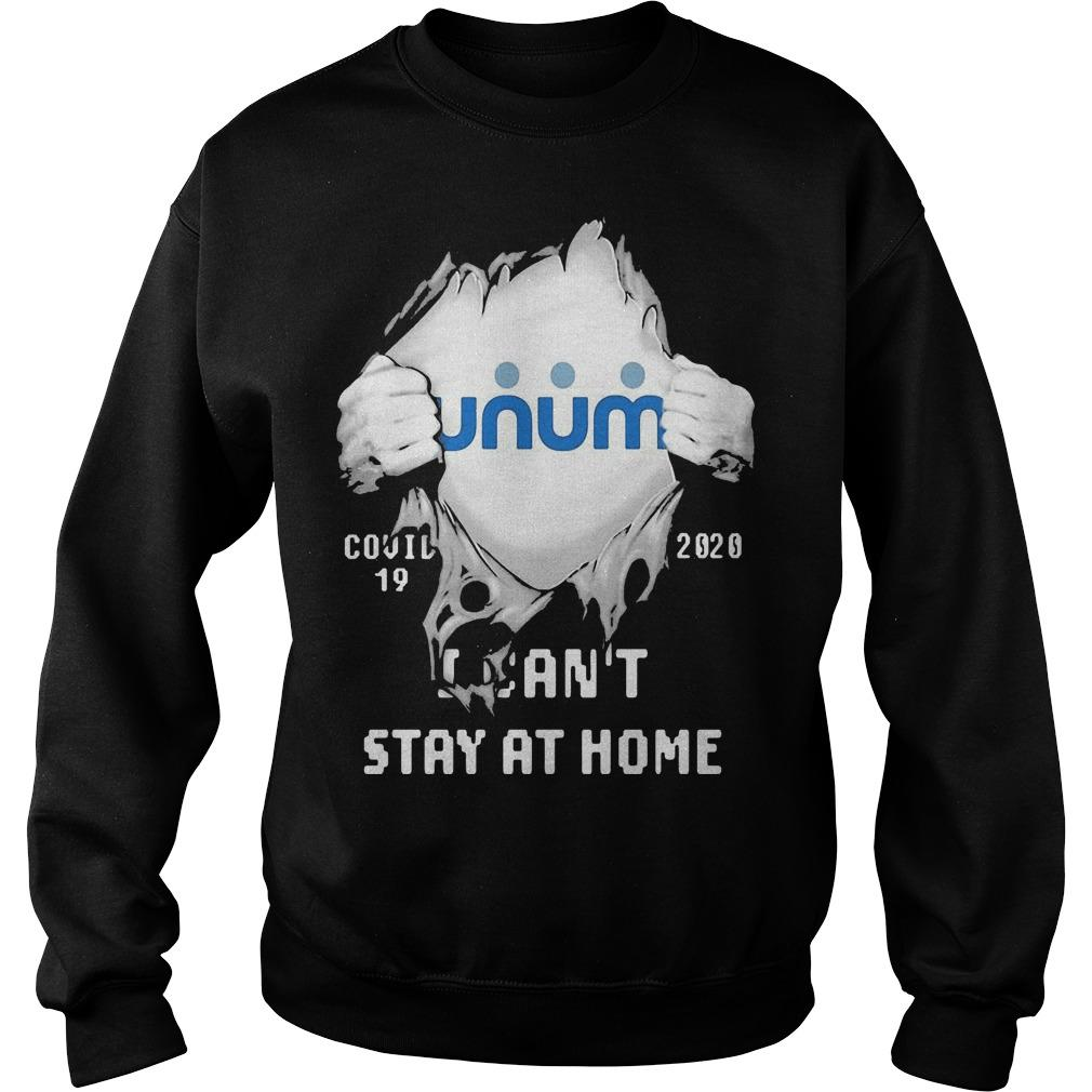 Inside Me Unum Covid 19 2020 I Can't Stay At Home Sweater