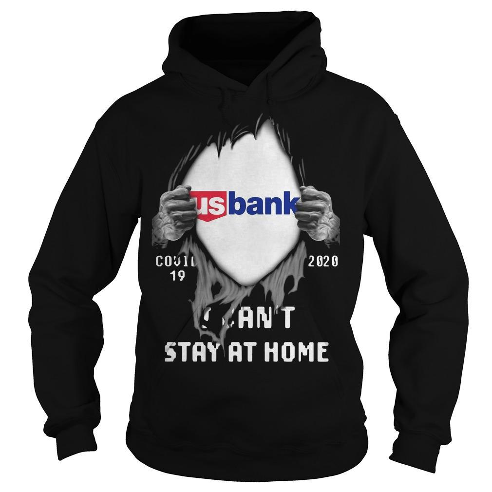 Inside Me Us Bank Covid 19 2020 I Can't Stay At Home Hoodie