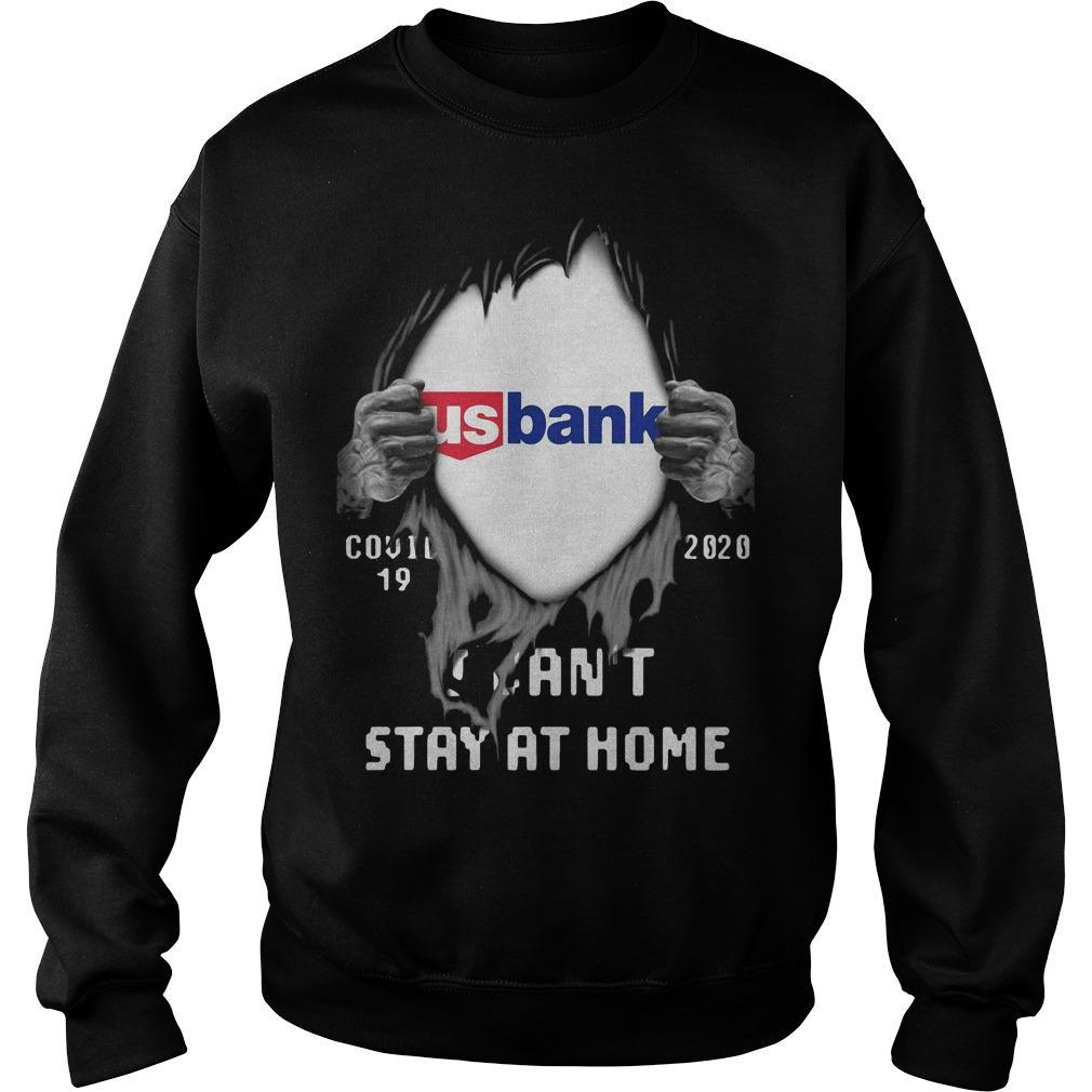 Inside Me Us Bank Covid 19 2020 I Can't Stay At Home Sweater