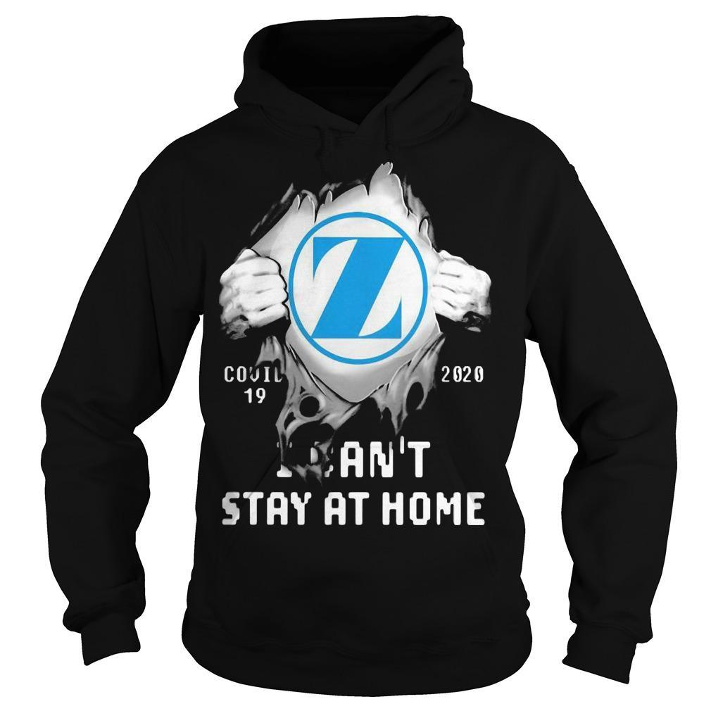 Insides Zimmer Biomet Covid 19 2020 I Can't Stay At Home Hoodie