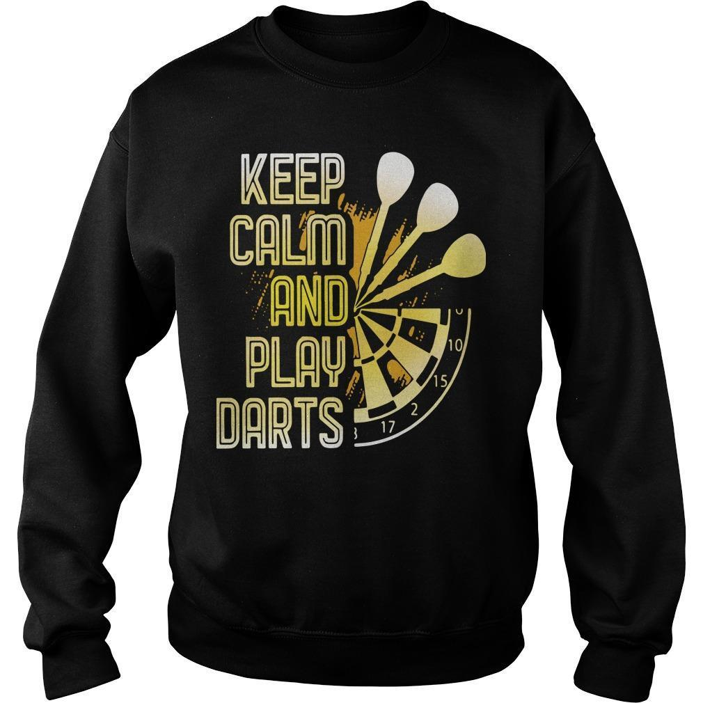 Keep Calm And Play Darts Sweater