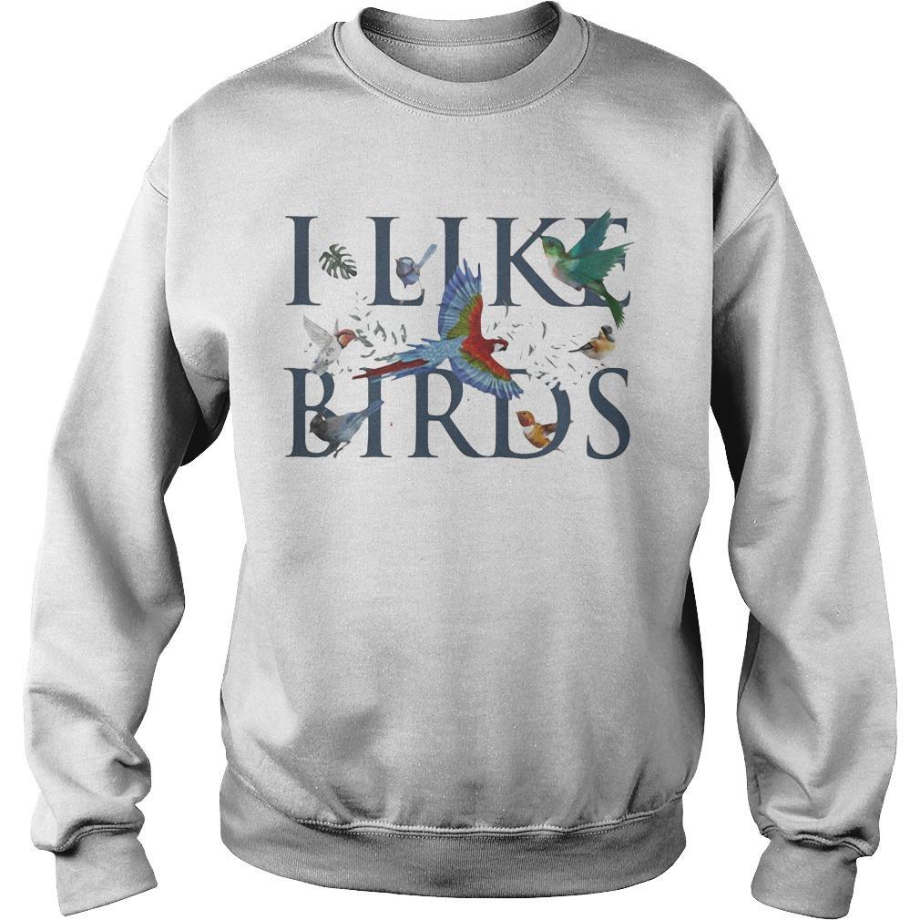 Leaf I Like Birds Sweater