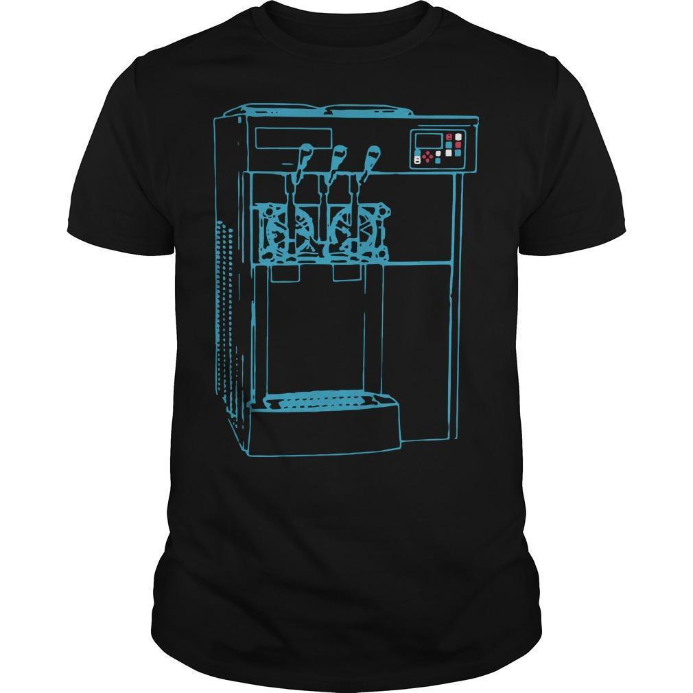 Miami Ice Cream Machine Shirt