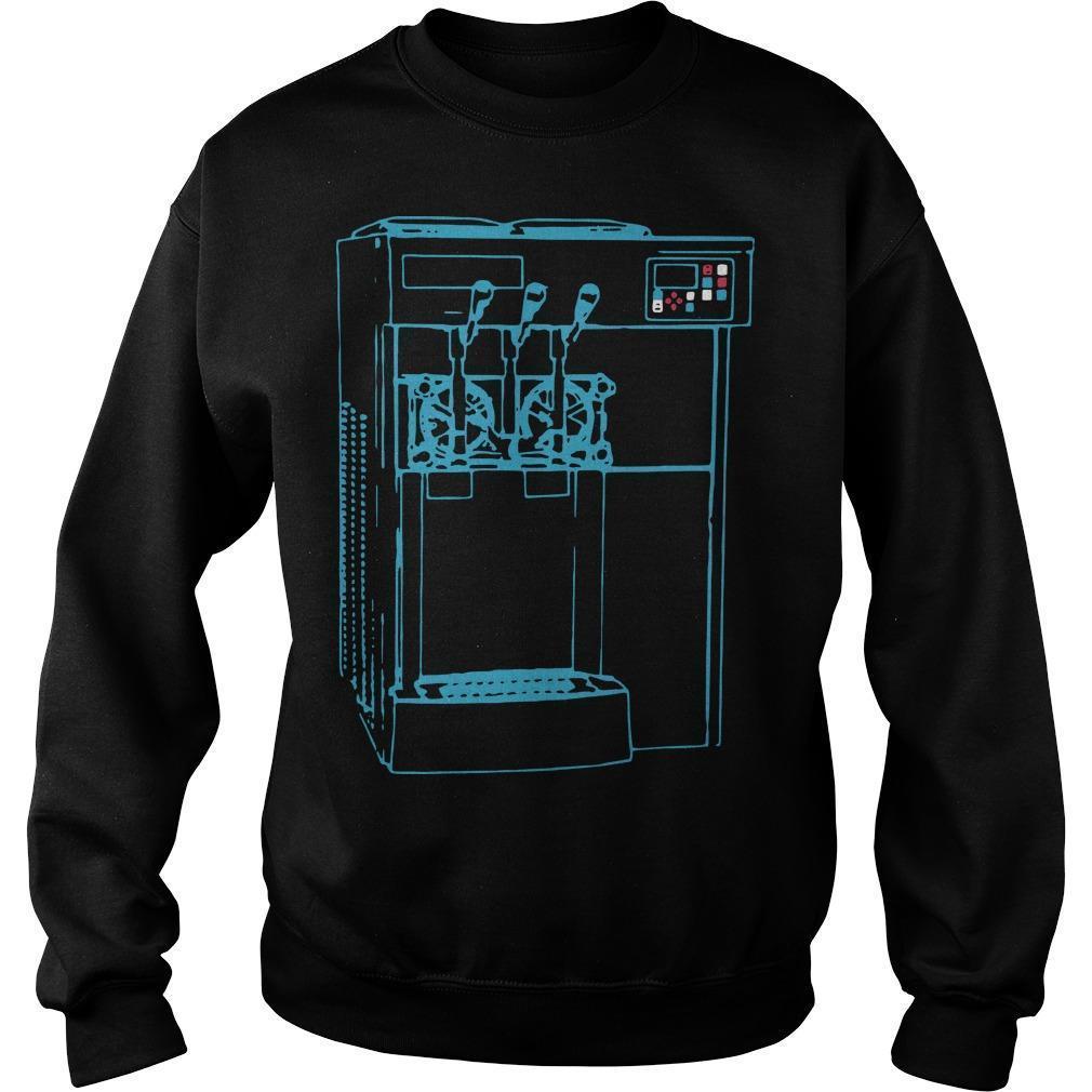 Miami Ice Cream Machine Sweater
