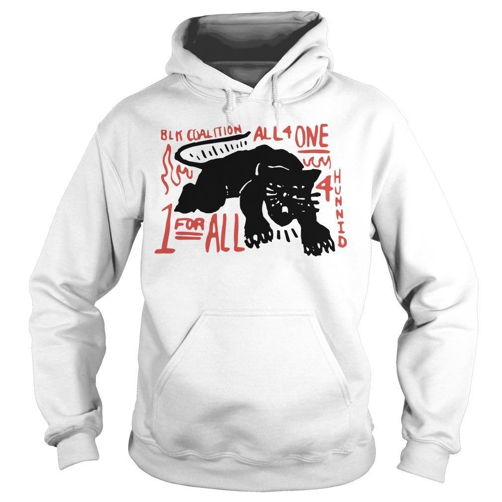 Panther Black Coalition All For One Hoodie