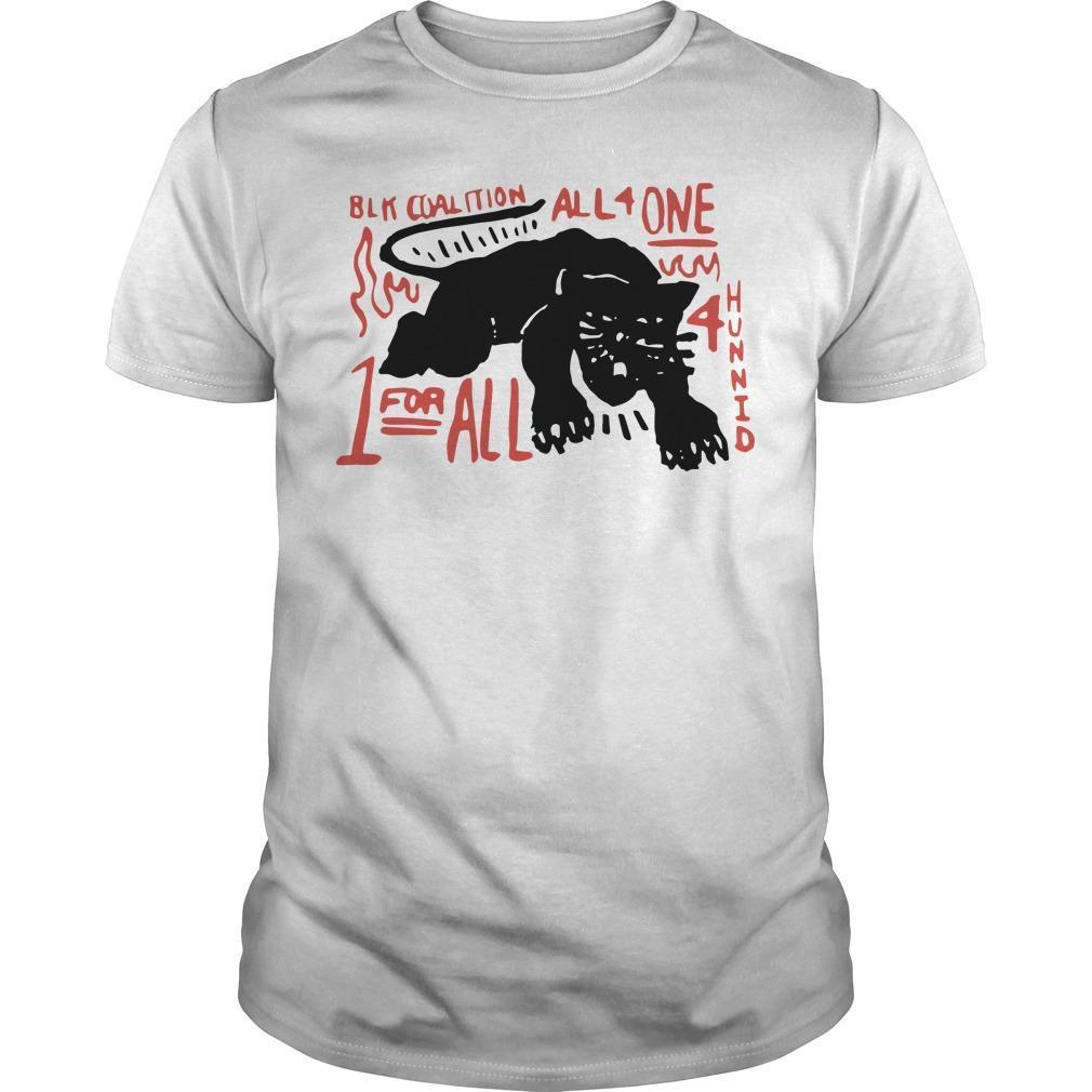 Panther Black Coalition All For One Shirt