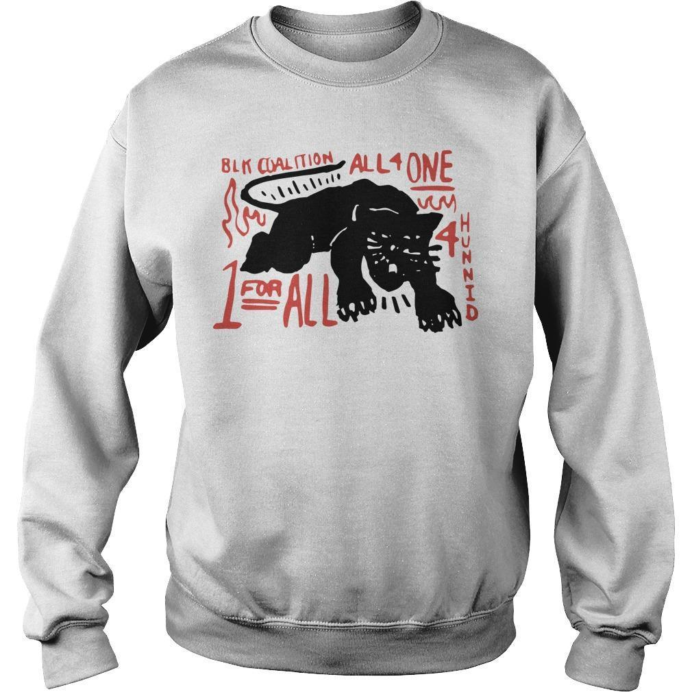 Panther Black Coalition All For One Sweater
