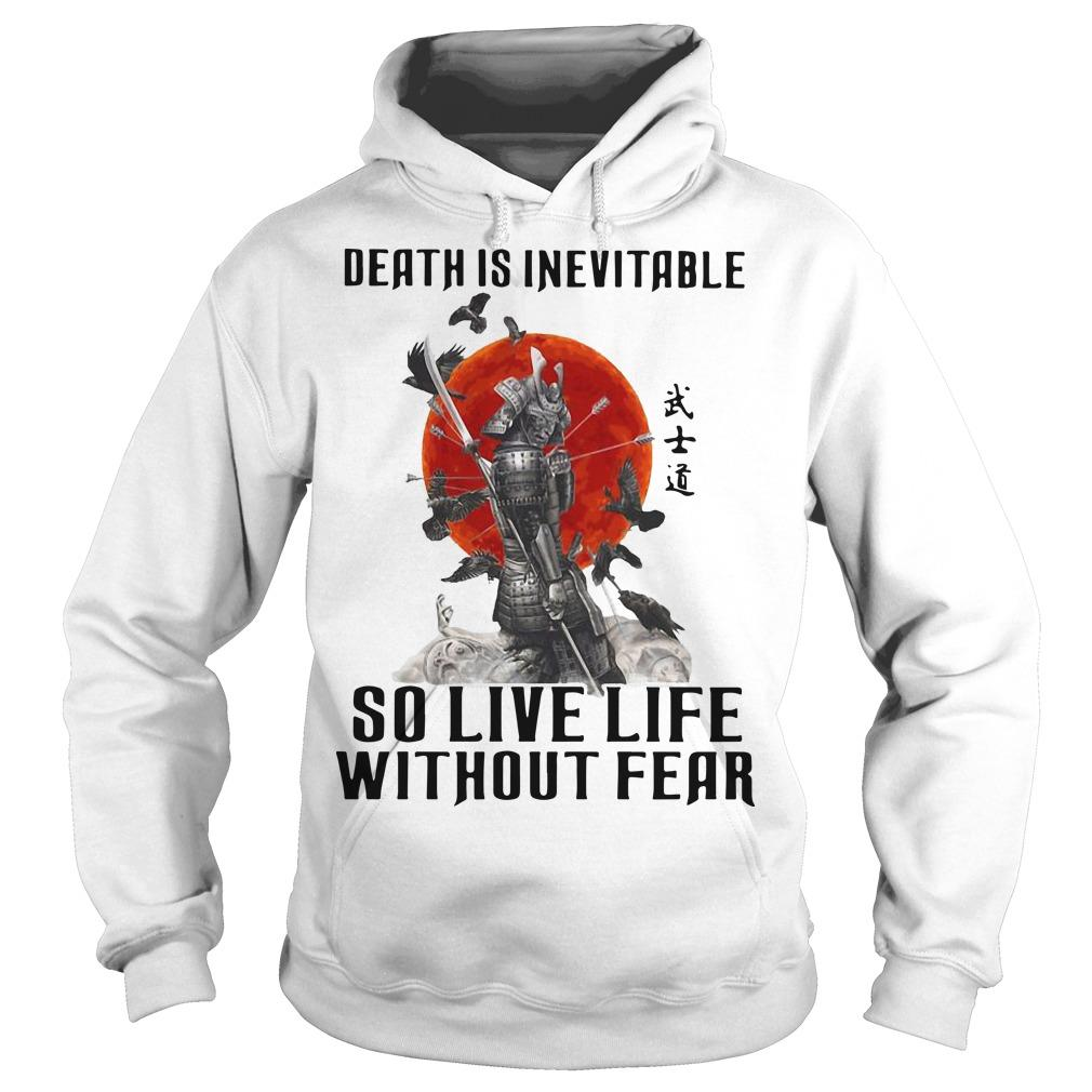 Sunset Death Is Inevitable So Live Life Without Fear Hoodie