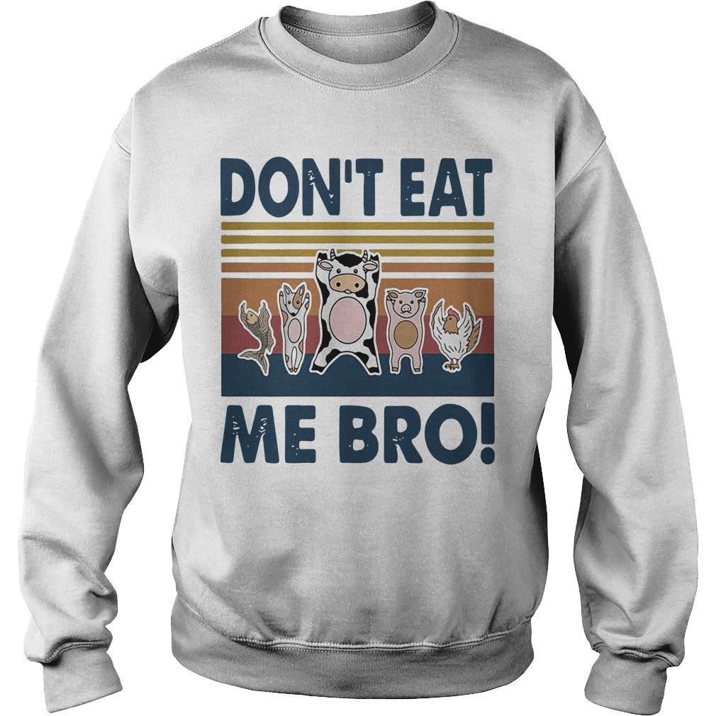 Vintage Animal Don't Eat Me Bro Sweater