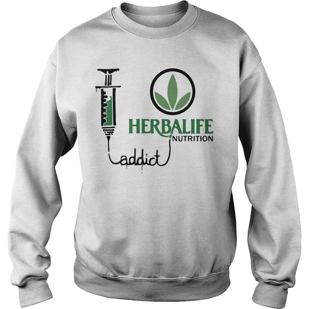 Weed Herbalife Nutrition Addict Sweater