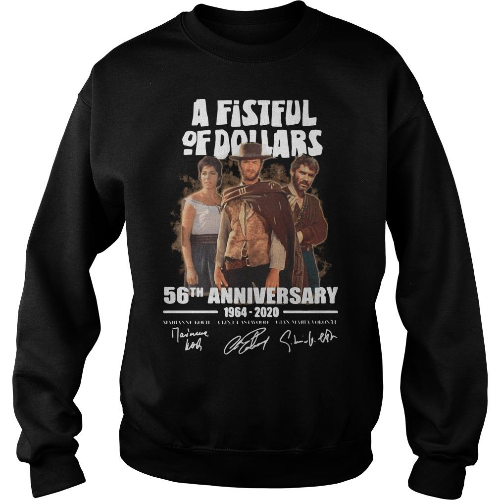 A Fistful Of Dollars 56th Anniversary Thank You For The Memories Sweater