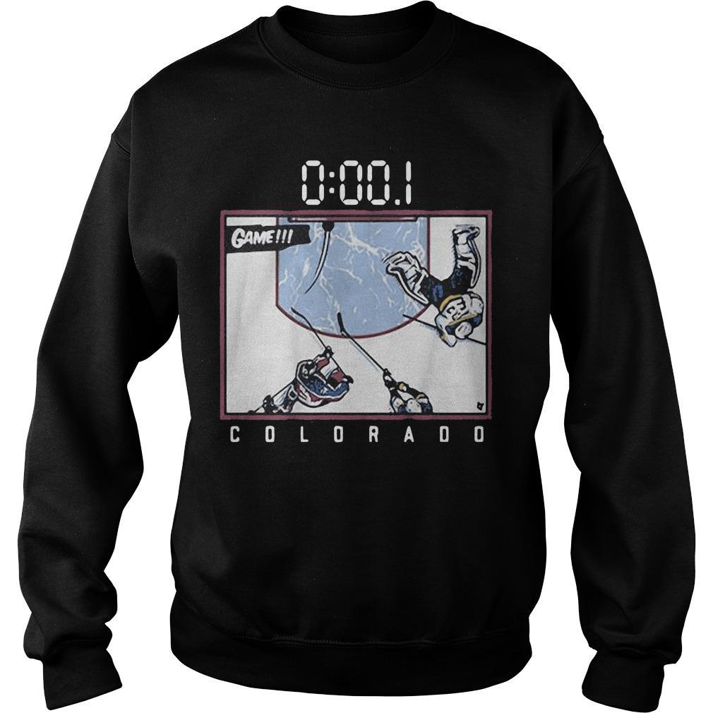 Hockey Game Colorado Sweater