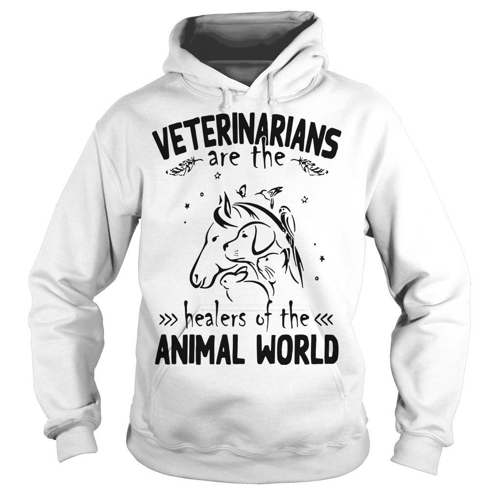 Veterinarians Are The Healers Of The Animal World Hoodie