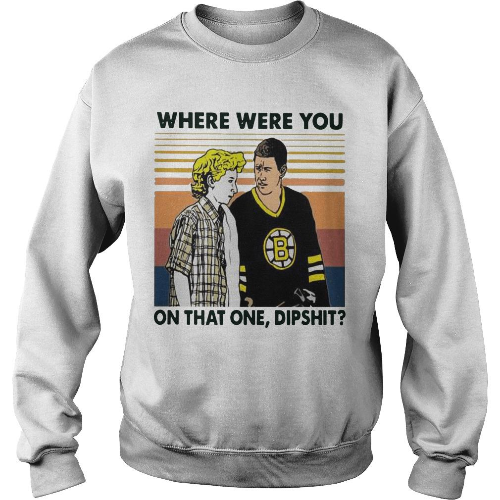 Vintage Happy Gilmore Where Were You On That One Dipshit Sweater