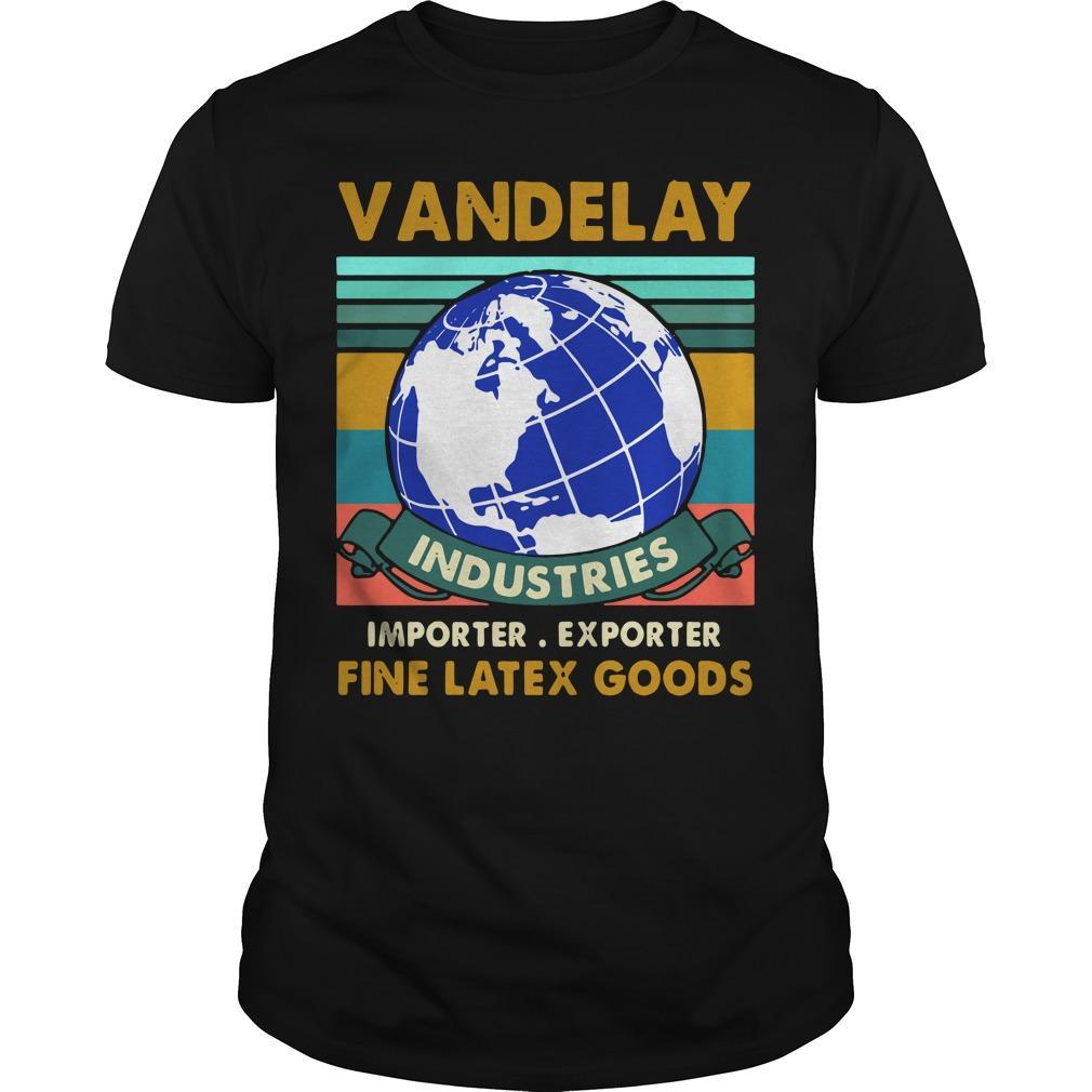 Vintage Vandelay Industries Importer Exporter Fine Latex Goods Shirt