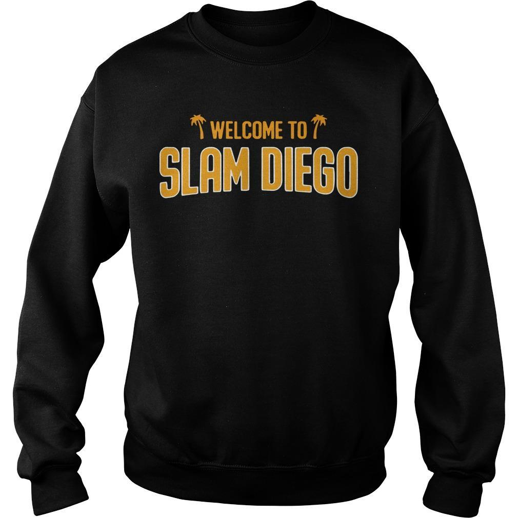 Welcome To Slam Diego Sweater
