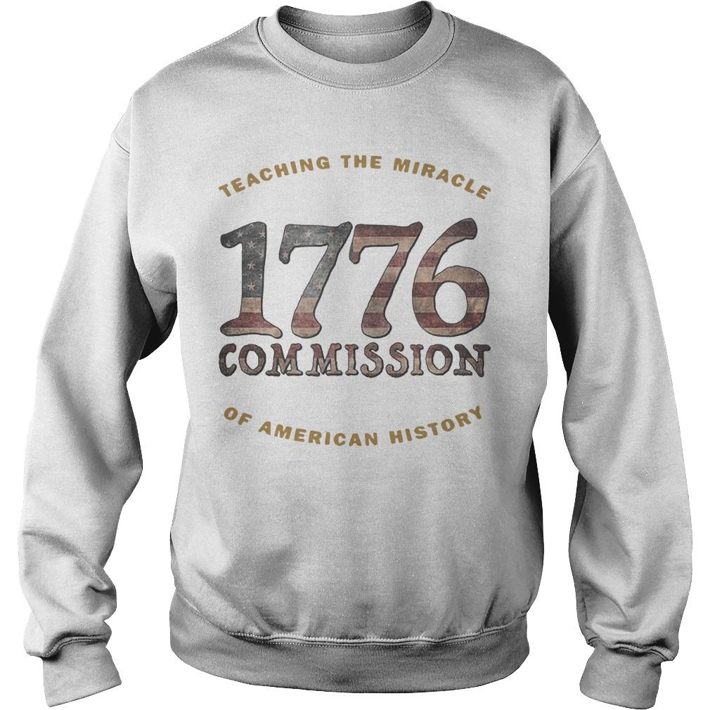 1776 Commission Teaching The Miracle Of American History Sweater
