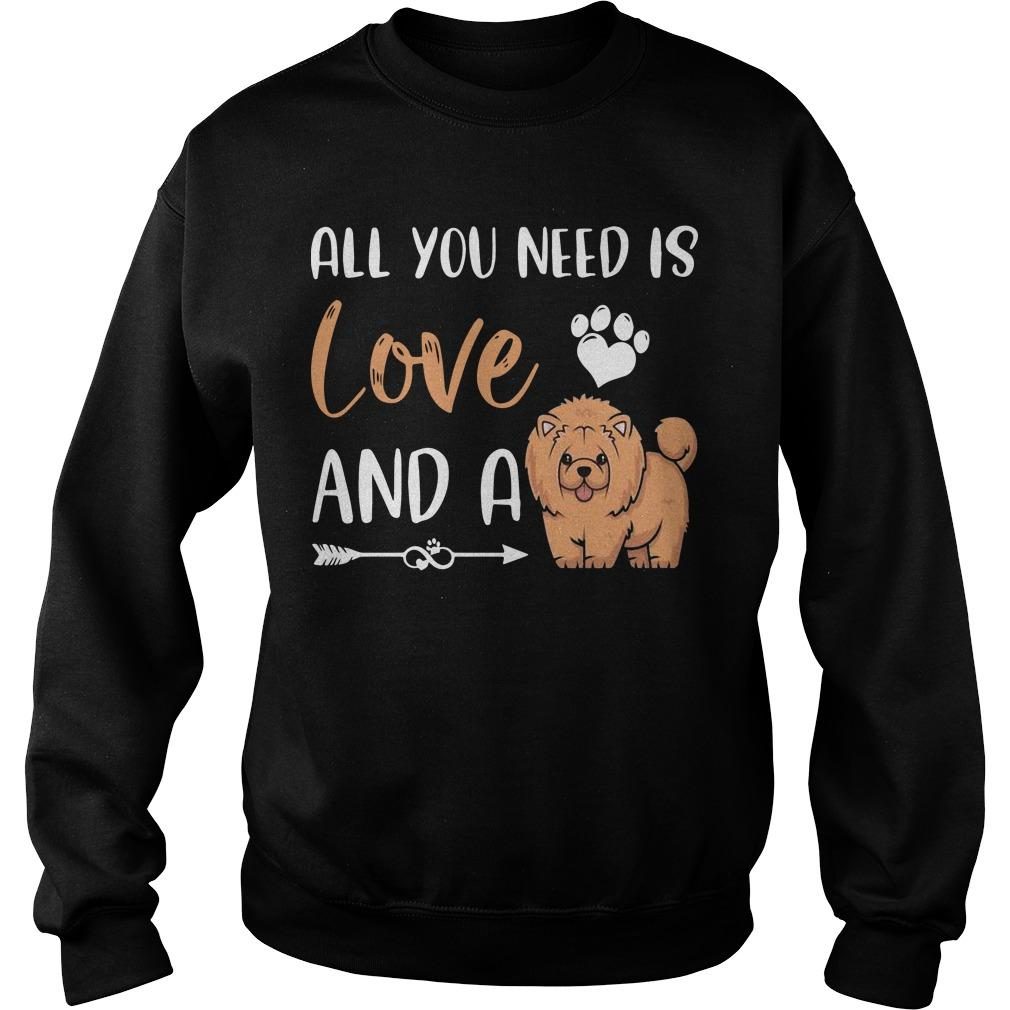 All You Need Is Love And A Chow Chow Sweater