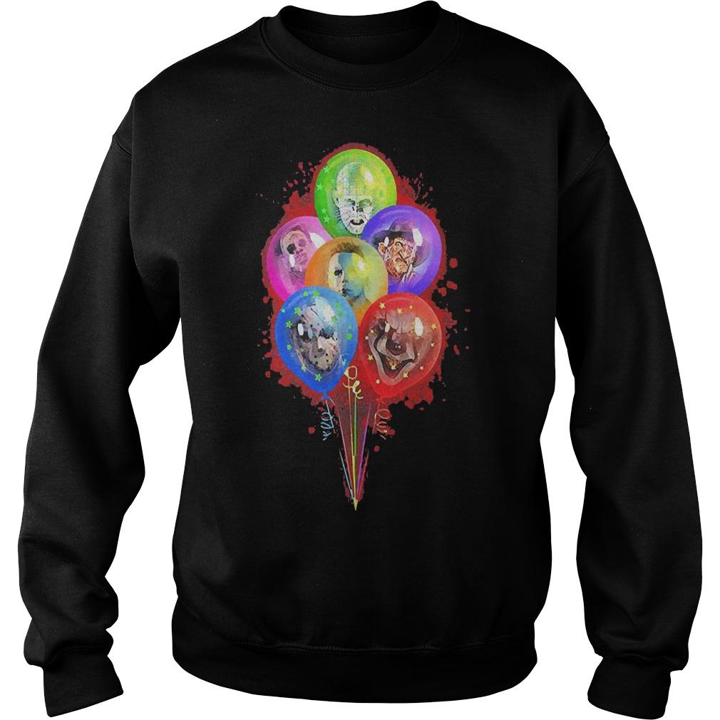 Balloons Horror Character Sweater