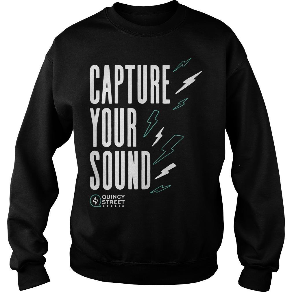 Capture Your Sound Quincy Street Sweater
