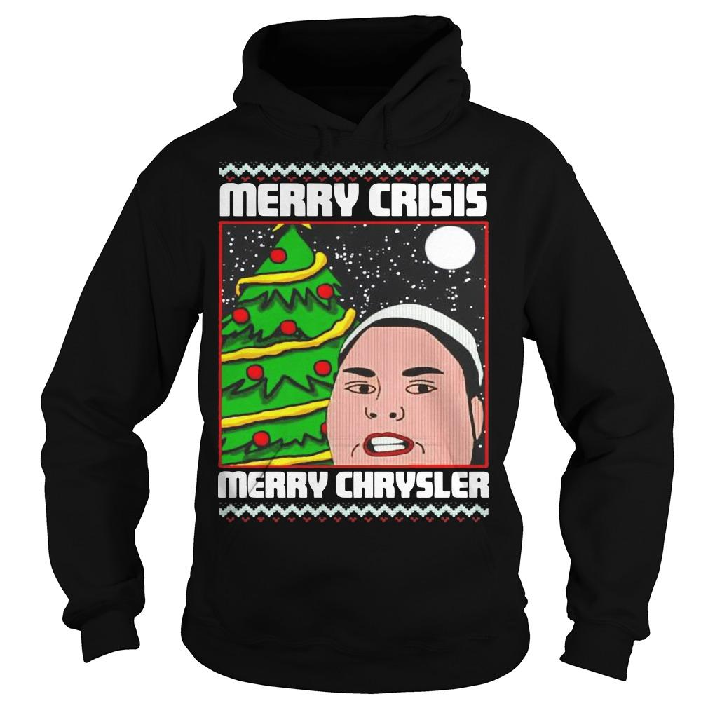 Christmas Merry Crisis Merry Chrysler Hoodie