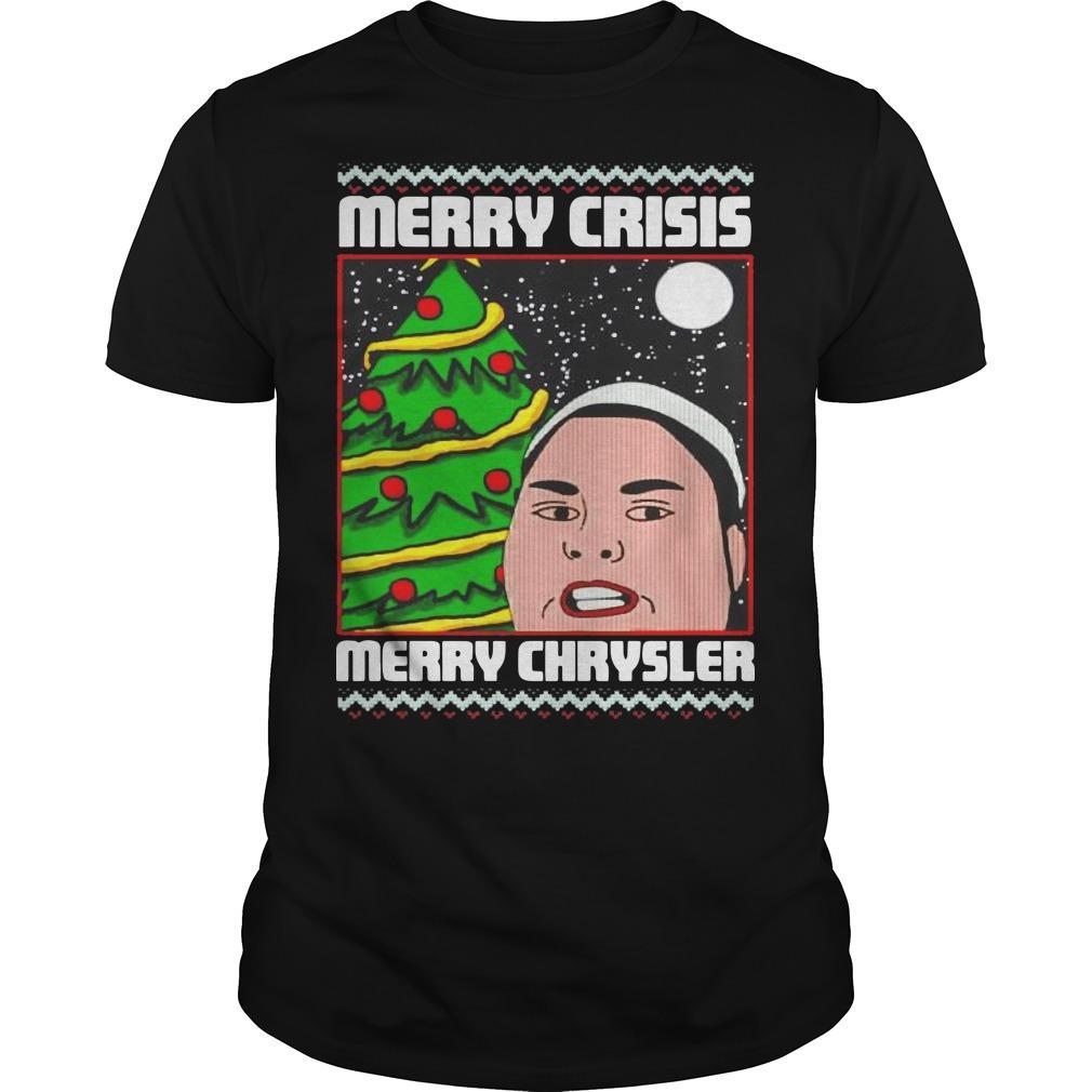 Christmas Merry Crisis Merry Chrysler Shirt