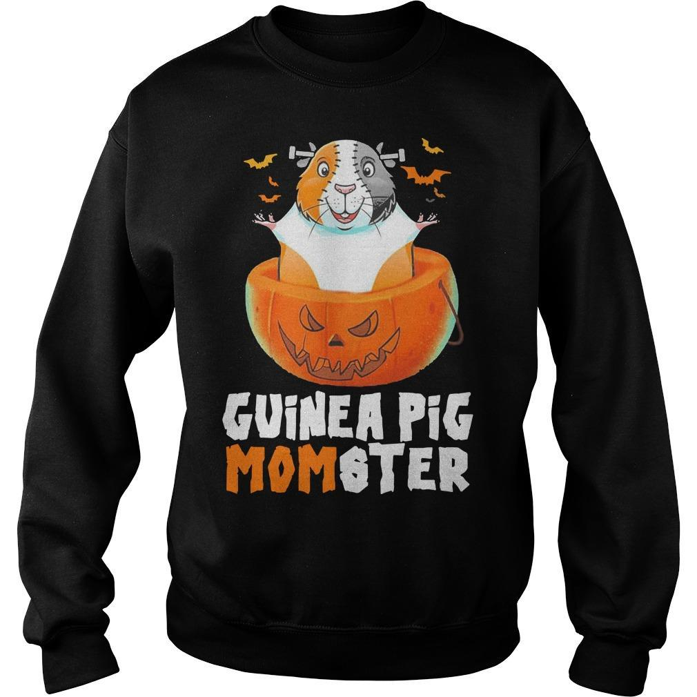 Halloween Guinea Pig Momster Sweater