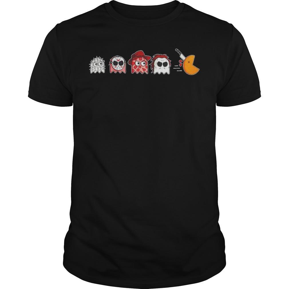 Horror Halloween Pacman Shirt