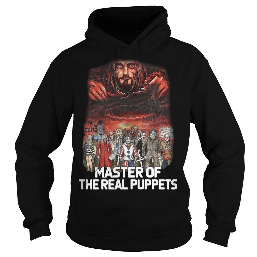 Horror Movie Characters Master Of The Real Puppets Hoodie