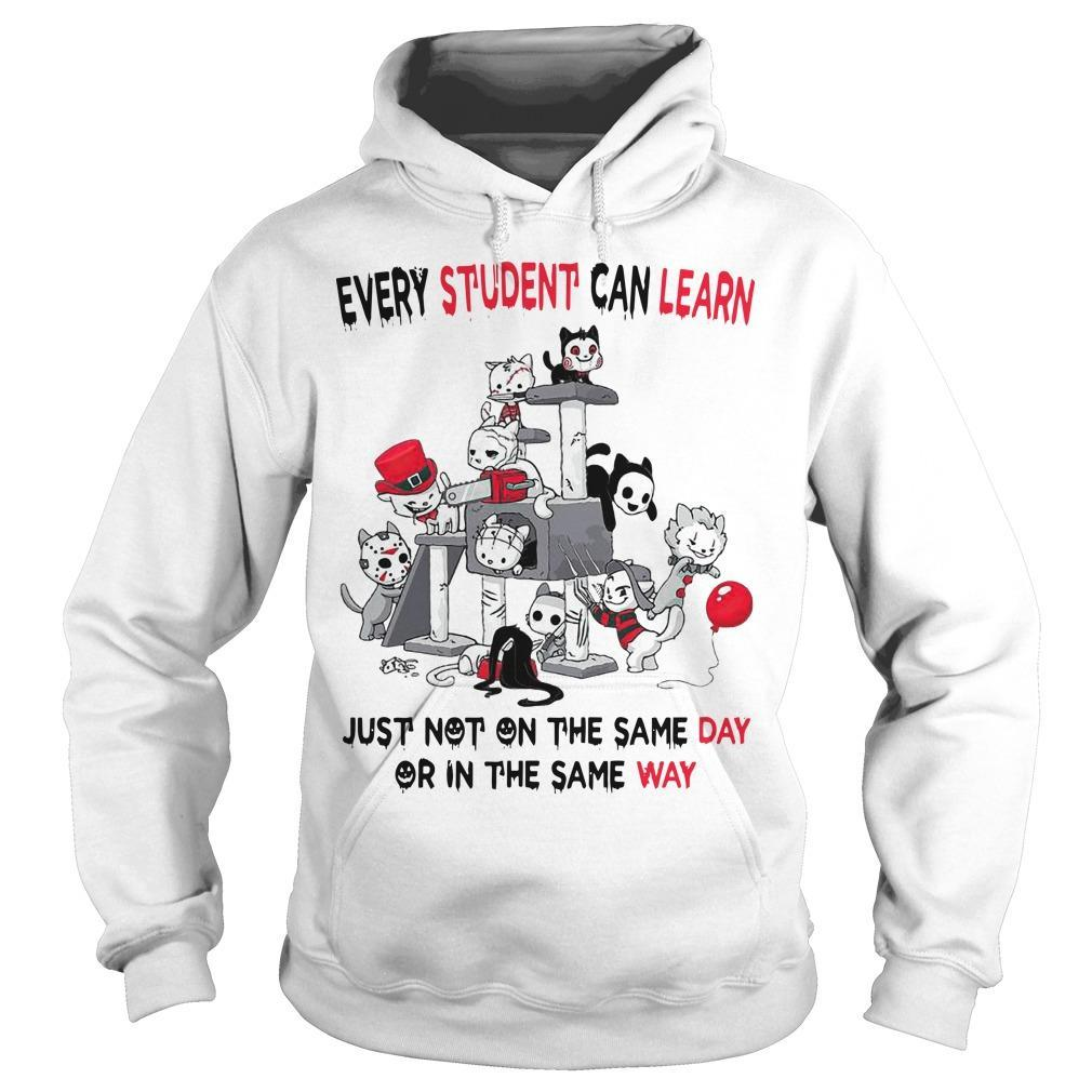 Horror Movies Every Student Can Learn Just Not On The Same Day Hoodie