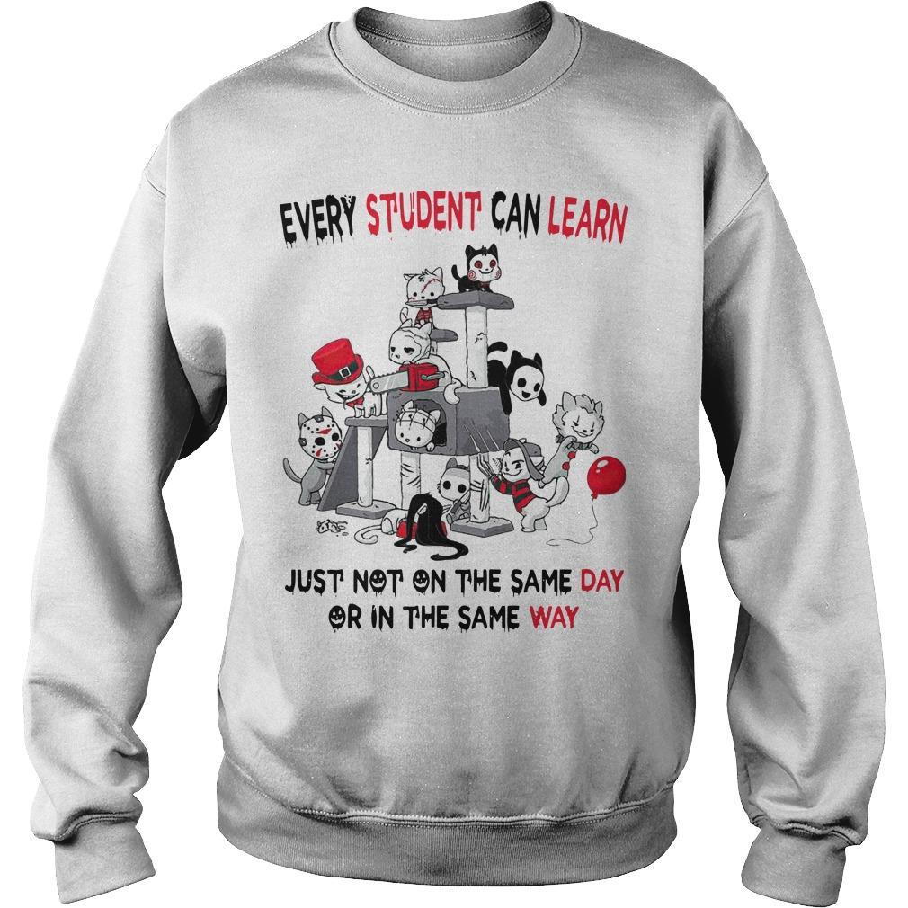 Horror Movies Every Student Can Learn Just Not On The Same Day Sweater